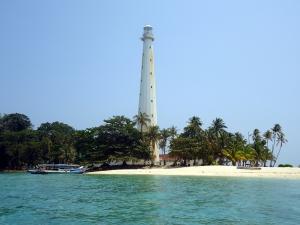Tadaaa ini dia Pulau Lengkuas :)