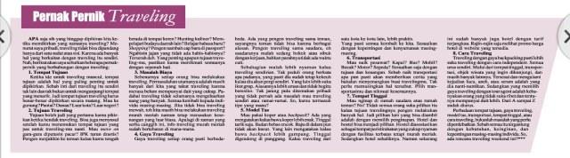 Harian Analisa Medan. Minggu, 04 Oktober 2015.